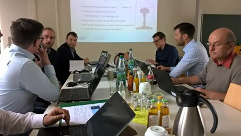 EuroPoint, working meeting in Dresden